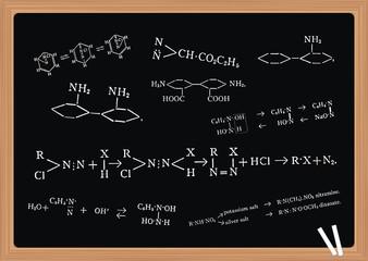 Chemie Lernen Studium Unterricht Schule Tafel