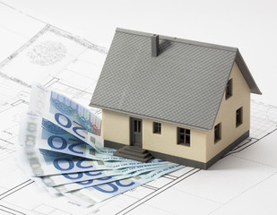 spending euros for extending or renovating a house