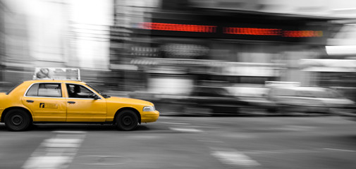 Foto op Canvas New York TAXI New York Taxi Cab