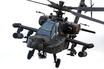 Printed roller blinds Helicopter Apache helicopter