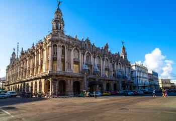 Karibik Kuba Sehenswürdigkeit großes Theater in Havanna