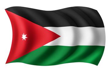 Jordan flag - Jordanian flag