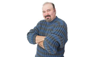 Portrait of a friendly mature man