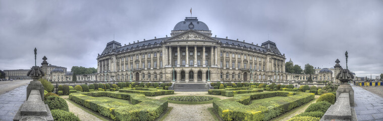 Foto op Canvas Brussel Royal Palace of Brussels, Belgium.