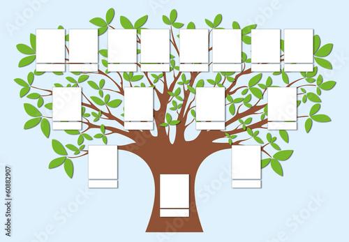 arbre g n alogique 1 fichier vectoriel libre de droits sur la banque d 39 images. Black Bedroom Furniture Sets. Home Design Ideas