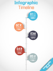 INFOGRAPHIC TIMELINE MODERN CONCEPT 4