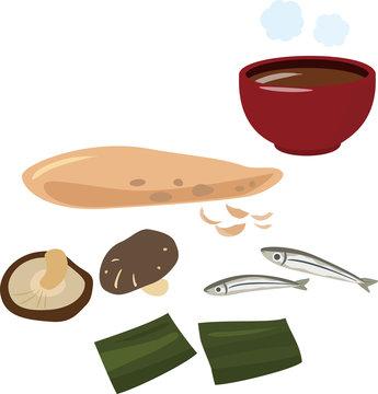出汁の食材