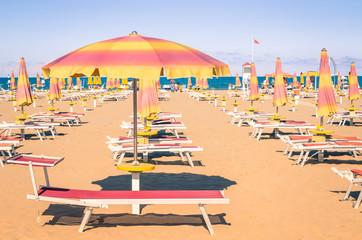 Italian Beach - Rimini style