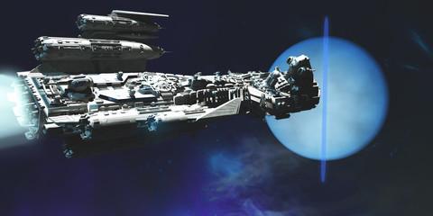 Spaceship to Neptune