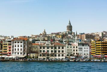Kind of Istambul from Bosphorus