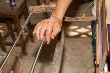 silk making cambodia