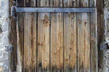 alte verwitterten Tür
