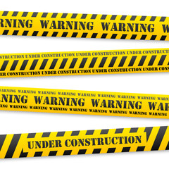 vector warning tapes