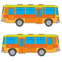 Multicolored bus  #2