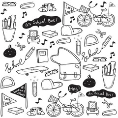 School Doodle Drawing