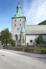 Domkirke Bergen in Norwegen