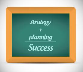points to success. education illustration design