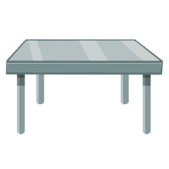 table isolated illustration