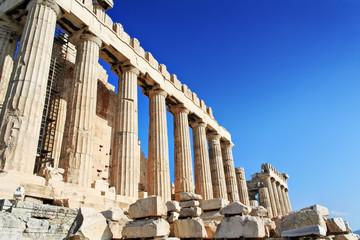 Recess Fitting Athens Parthénon in Acropolis, Athens
