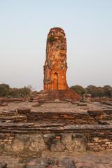 Old pagoda at Ayuthaya Province, Thailand