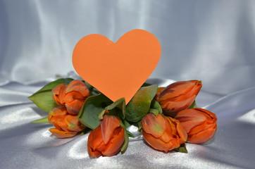 Tulpen - Blumen mit Herz