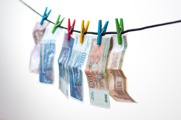 Money laundering, Lithuania litas