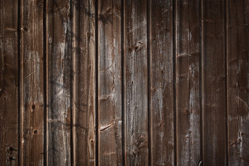 Old wooden plankss