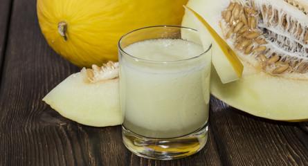 Fresh made Honeydew Juice