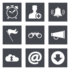 Icons for Web Design and Mobile Applications