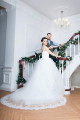 Bride and groom. Relationship