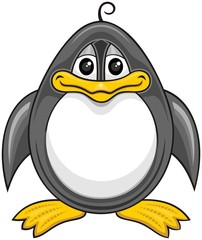 cartoon penguin 01