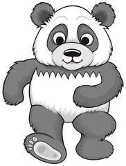 cartoon panda 02