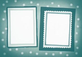 Frame made of paper