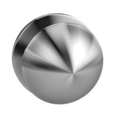 realistic 3d render of door knob