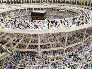 Wall Mural - New images of Kaaba in Mecca after restoration