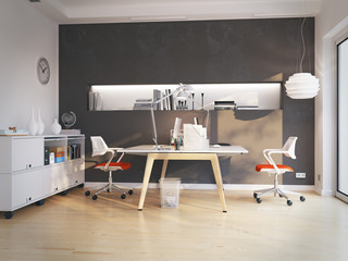 doppelarbeitsplatz in apartment - nice workplace in apartment