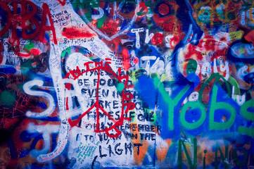 Graffitis couleur
