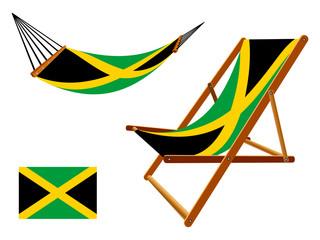 jamaica hammock and deck chair set