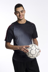 junger Fussballspieler, Türke