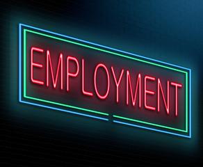 Employment concept.