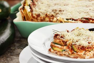 Fresh Zucchini Lasagna