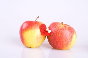 Couple apples