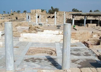 Ancient Caesarea. Israel