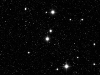Cancer Zodiac sign bright stars in cosmos