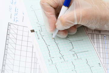Filling the the medical documentation