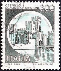 Scaliger Castle, Sirmione (Italy 1980)