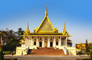 Royal Palace and Silver pagoda (The throne hall), Phnom Penh, No