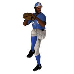 black baseball batter