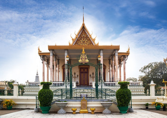 Silver Pagoda in Royal Palace, Phnom Penh, No.1 Attractions in C