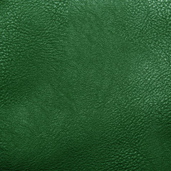 green artificial leather for background
